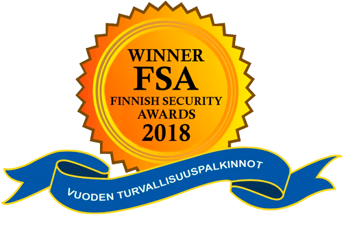 Finnish Security Awards 2018 logo